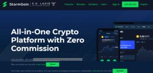 Minería de criptomonedas Stormgain |  Cómo minar Bitcoin gratis