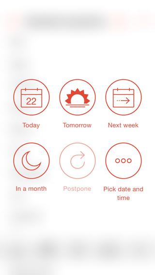 Usa el menú rápido para programar tareas en Todoist
