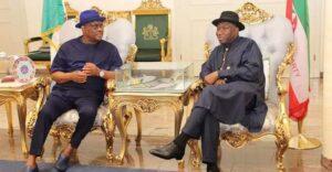 Wike promete no apoyar a Goodluck Jonathan en 2023