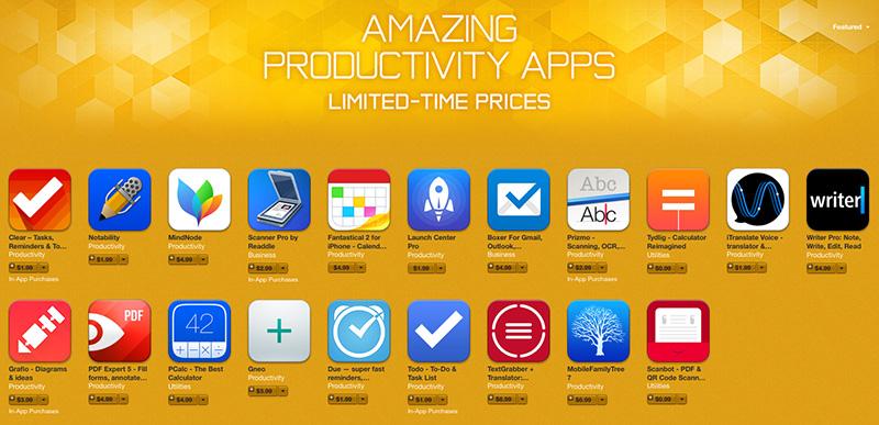 Increíbles aplicaciones de productividad