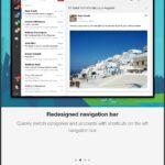 La aplicación Gmail obtiene una actualización visual para iOS 7, la aplicación para iPad obtiene una nueva barra de navegación para cambiar de cuenta y más