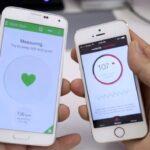 El monitor de frecuencia cardíaca del Samsung Galaxy S5 frente a una aplicación gratuita para iPhone
