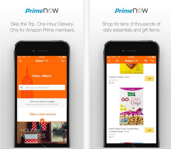 Imagen de Amazon Prime ahora iOS