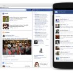 Facebook presenta Tendencias para dispositivos móviles con compatibilidad con iOS próximamente