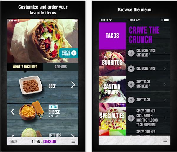 Imagen de la aplicación Taco Bell