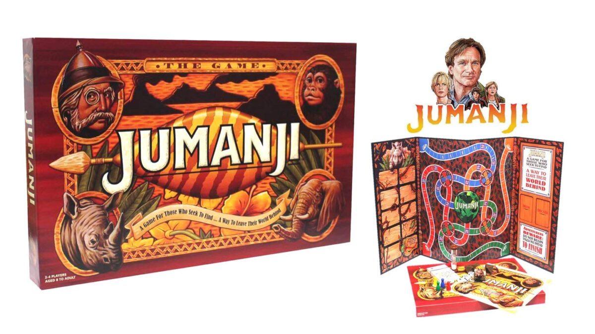 Instrucciones en español del juego de mesa Jumanji